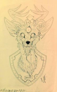 design for a plaque by DeerCub
