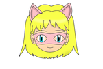 Pink Pussycat Chibi Face 1 by laprasking