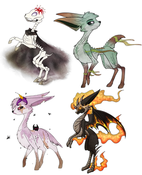 Exclusives: Four Horesemen Deerling by Velnyx