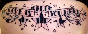Beatles Tattoo by unsungphotographer