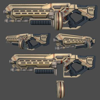 SciFi Shotgun WIP2 by ravital