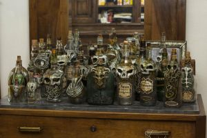 Creepy Bottles by FraterOrion