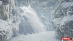 Unreal Engine 4 Snow Pass by DaminDesign