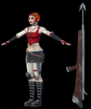 Mad Anne Flint -- In 3-D by aimeeevilpixie