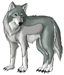 thesilvermist  by sugarpoultry by ArtOfThePawAndFang