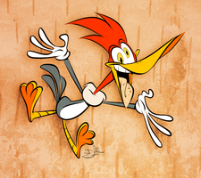 Woody Woodpecker by Themrock