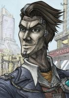 Borderlands 2 - Handsome Jack by IcyYmir