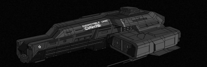 UNSC Indomitable - WIP 2 - by Chris000