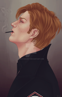 Hux by goatrocket