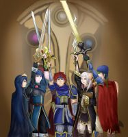 Fire Emblem Pride (Updated) by Kenisu-of-Dragons