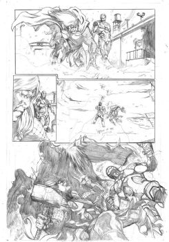 avengers assemble samples pages 1 by Geniss