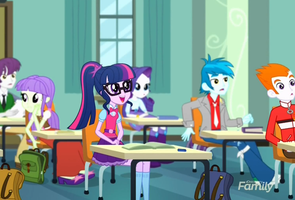 MLP Equestria Girls Subs Rock Moments 2 by Wakko2010
