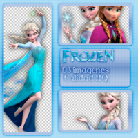 Pack PNG de FROZEN by Lichu-editions