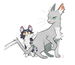 Don't ever talk to me or my sister again... by Graystripe64
