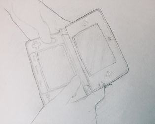 Nintendo 3Ds by Apohe
