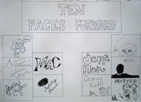 Ten Paces Forward title page by 130Dk