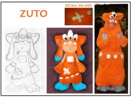 ZUTO - mascotte kawaii by Sokaii