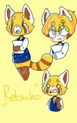 retsuko by captain-blueberry