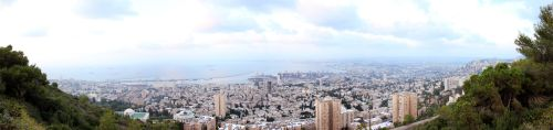 Panorama of Haifa by sad-roses