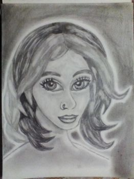 My first cartoon portrait  by Raziel993