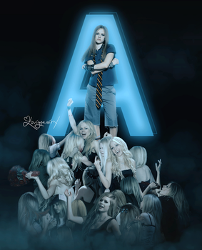 ''The new Avril can't come the phone right now'' by FreeError