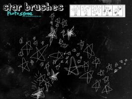Star brushes by photosoma