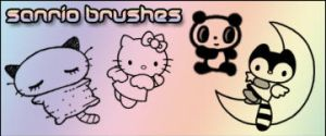 Sanrio Brushes by Shizuru117