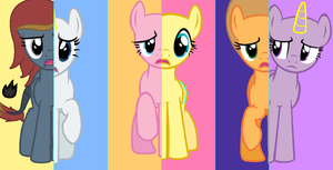 Mane Six Of Da by pokemonfnaf1