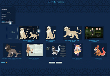 Blue Gallery CSS by TaNa-Jo