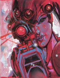 Widowmaker RED by ChrisVisions