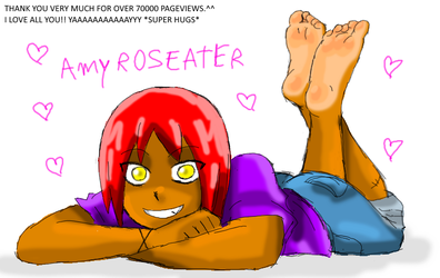 Amy Relax Showing Her Soles by amyroseater