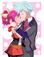 Essentialshipping_collabx3 by Hikari-Rose-Moon