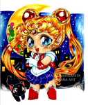 Chibi Sailor Moon by selene-nightmare69