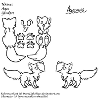 Cat Reference Sheet :FREE USE: by AppleDew
