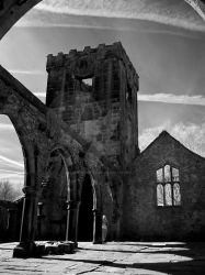 The Ruined Church at Heptonstall by GaryTaffinder