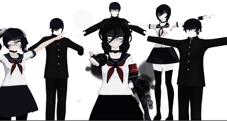 MMD YANDERE SIMULATOR Join us ayano or... by ShiningstarOFFICIAL