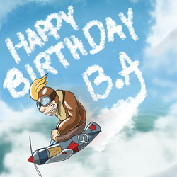 Happy Birthday B.A. by rodrev
