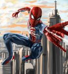 spiderman ps4 by chappylicious