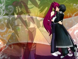 MMD Pose 'Forced Kiss' + DL by ShoranSenSaora