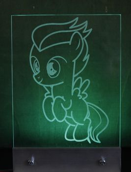 My Little Pony Rumble LED Picture by steeph-k