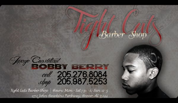 Tight Cuts Barber Shp BizCard by sunrhythms