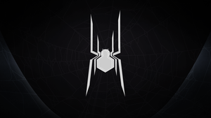 Civil War Spider-Man: Minimal Wallpaper (Black) by IronWarrior777