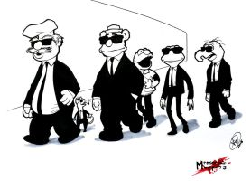 Reservoir Muppets by AdamWithers