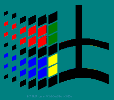 Bit Trip Windows Runner Logo by Kreaten
