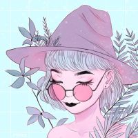 Pastel witch by fyriee