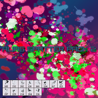 CGFX spatter pack 2 by xALIASx