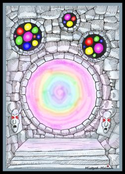 Rainbow Portal by MelianMarionette