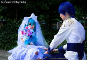 Wedding Hatsune Miku 03 by KyuProduction