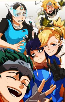 My Overwatch Academia (Pt 3) by Goombac