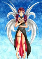 Winged Girl by Virus-Tormentor